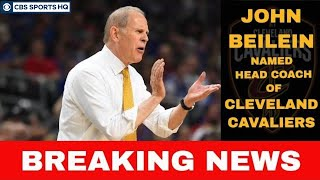 John Beilein JUMPS TO THE NBA to coach the Cleveland Cavaliers   CBS Sports