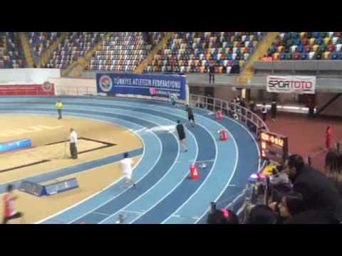 İstanbul salon türkiye şampiyonası 400mt yarışı