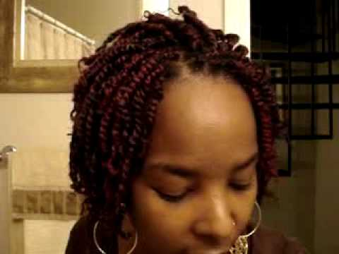 how to do hair twist styles how to do nubian twist part 2 8621