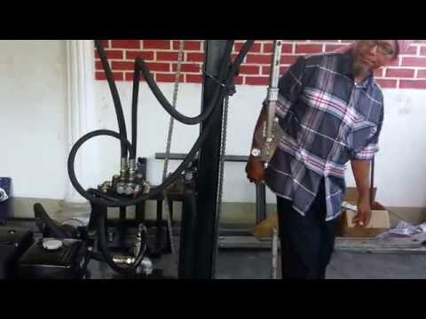 PORTABLE HYDRAULIC TUBEWELL DRILLING MACHINE PART 7