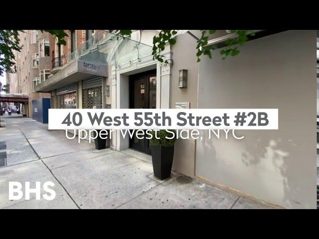 40 West 55th Street, 2B