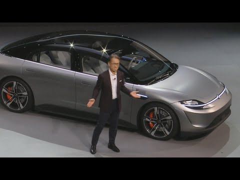 Fisher - Sony Rolls Out Their First Ever Car.  Yes A Car