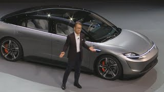 See Sony's Vision-S car concept at CES 2020