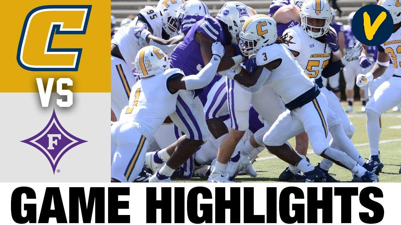 #11 Chattanooga vs #13 Furman Highlights | FCS 2021 Spring College Football Highlights