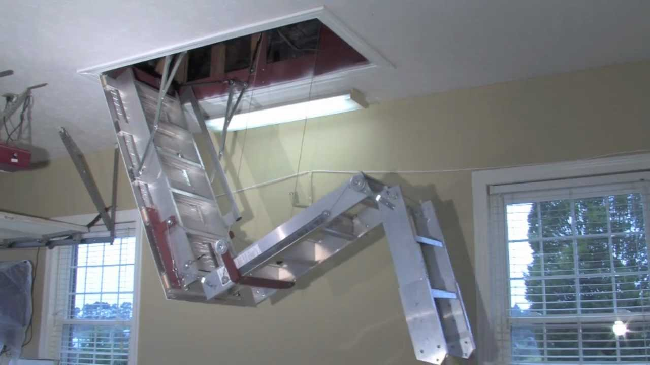 attic stair design ideas - Precision Ladders Automatic Super Simplex Wireless