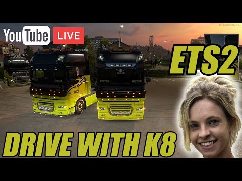 🚛 DRIVE WITH KATE! 🚛 CONVOY O CLOCK TRUCKERSMP EVERYONE WELCOME