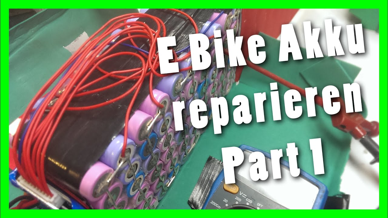 e bike akku reparieren part 1 pr fen und nachladen youtube. Black Bedroom Furniture Sets. Home Design Ideas