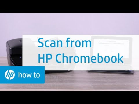 How to Scan from an HP Chromebook | HP Chromebook | HP - YouTube