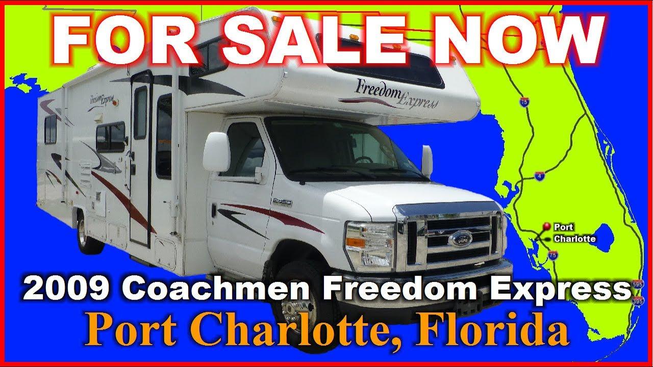 2009 Coachmen Freedom Express 31SS Used Class C Motorhome, Florida, Punta  Gorda, Fort Myers