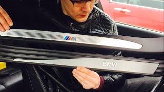 """BMW E60 """"М"""" накладки"""