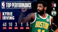 Kyrie Irving Comes Up CLUTCH On Christmas | December 25, 2018
