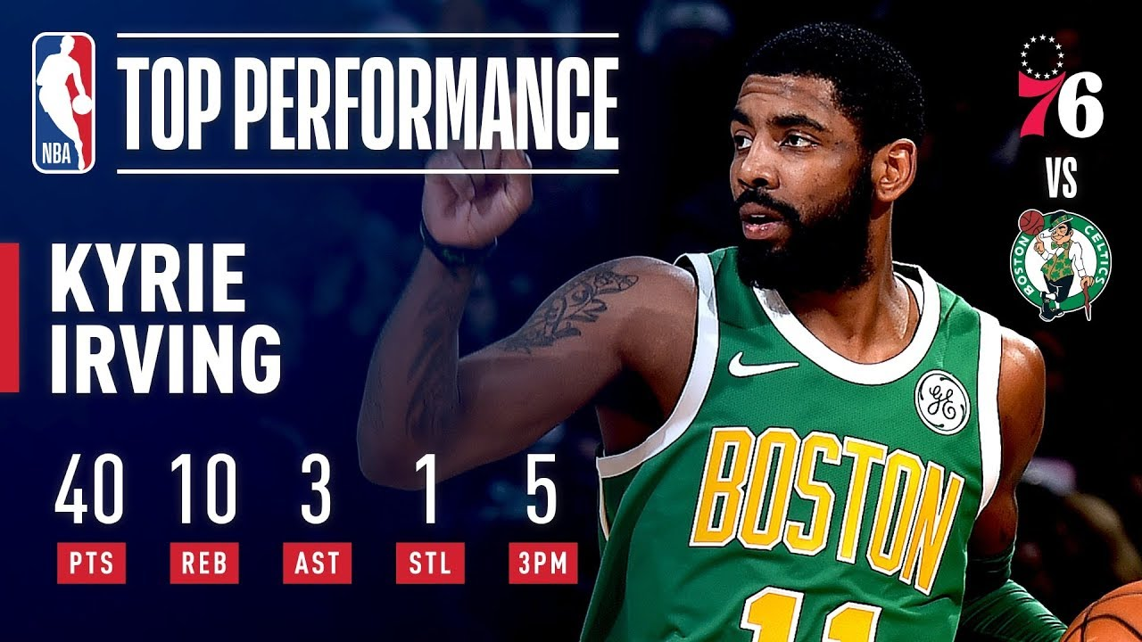 hot sale online 25ef0 5f34c Kyrie Irving Comes Up CLUTCH On Christmas   December 25, 2018