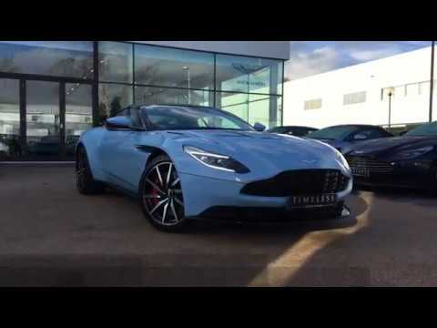 frosted glass blue db11 available for sale at aston martin