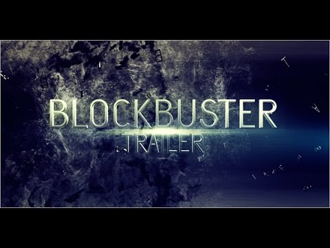 Blockbuster Trailer 12 After Effects Template