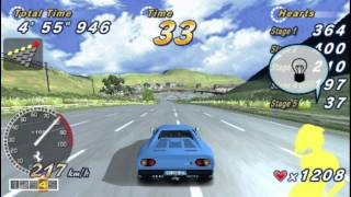 OutRun 2006: Coast 2 Coast PSP Gameplay