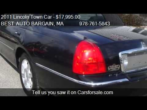 2011 Lincoln Town Car Executive L 4dr Sedan For Sale In Lowe Youtube