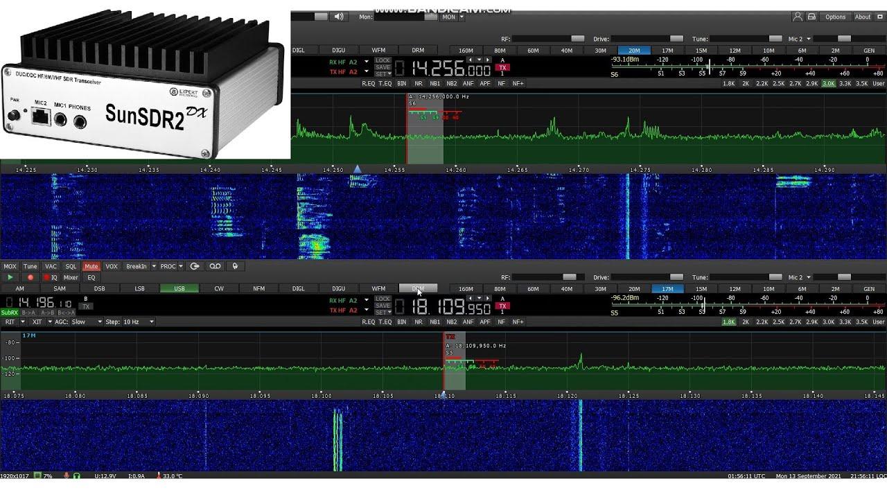 Download SunSDR2 DX By Expert Electronics, Ham Radio SDR Transceiver HF/6M/2M, Software Defined Radio