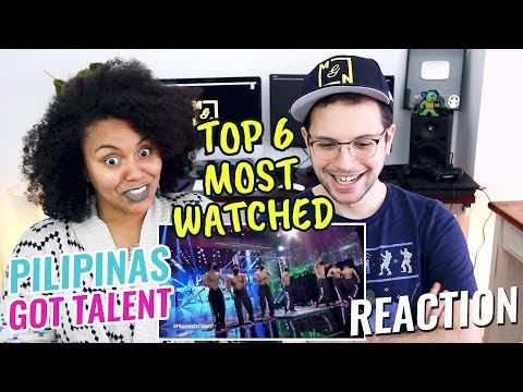Top 6 Most Viewed Auditions | Pilipinas Got Talent 2018 | REACTION