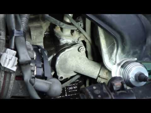 How To Replace Thermostat Toyota Corolla Vvt I Engine