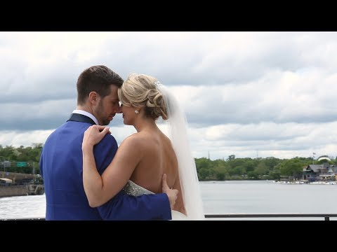 Romantic Spring Wedding at the Philadelphia Library {vicky & zach} PA Wedding Video