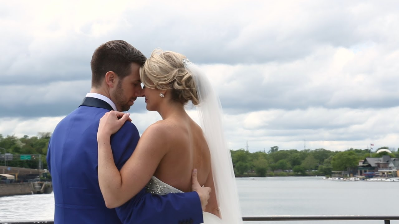 Romantic Spring Wedding at the Philadelphia Library {vicky & zach} PA Wedding Video