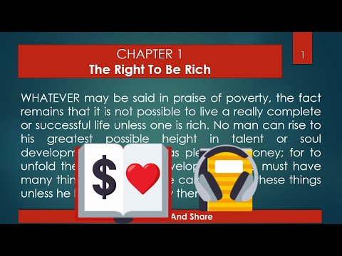 The Science Of Getting Rich Audiobook (Secret behind The Secret)  -Wallace D. Wattles -  Full | Text