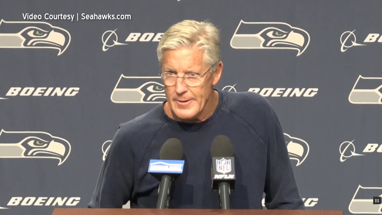 Pete Carroll on Making Improvements 2019-09-09