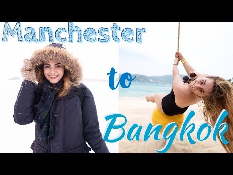 FROM MANCHESTER TO BANGKOK | THE JOURNEY | THISIZZTHELIFE