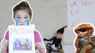 My Elf On The Shelf Is Missing! Mean Elf Took My Elves! The Doll Maker is Watching Me