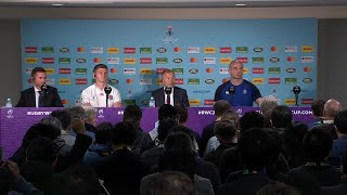 Farrell, Jones and Borthwick speak after Rugby World Cup final loss