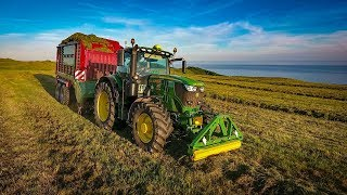 Silage 2018 - Strautmann Wagons- W.B. Vincents Contractor + plant hire