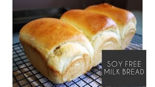 How to Make Milk Bread (Soy Free)