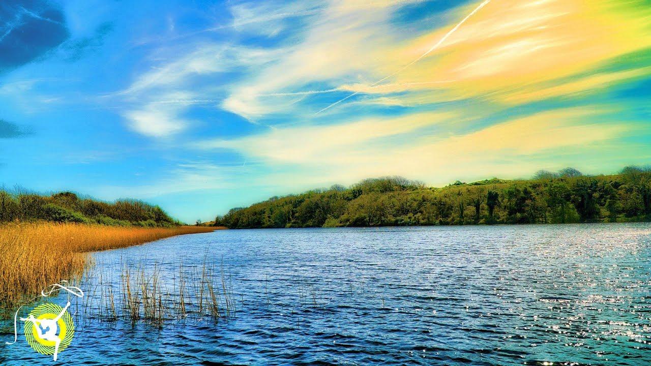Relaxing Lake Water Sounds & Birds
