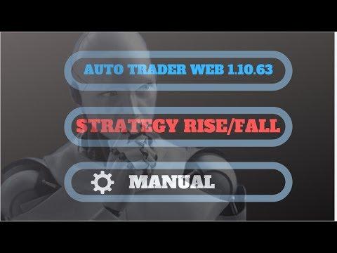 AUTO WEB TRADER RISE FALL STRATEGY MANUAL-BINARY BOT ONLINE
