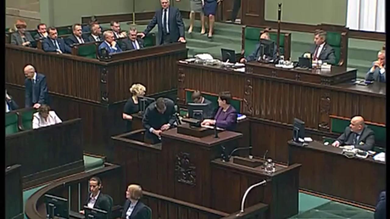 Beata Szydło – Wystąpienie Premier RP w Sejmie