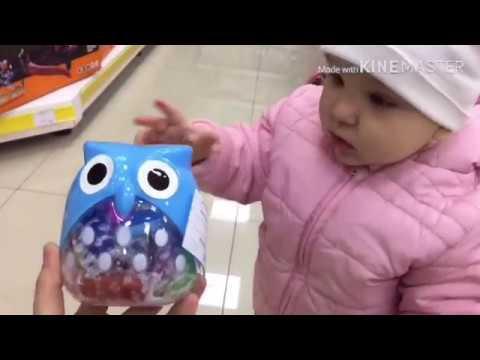 Шопинг в магазине игрушек с папой