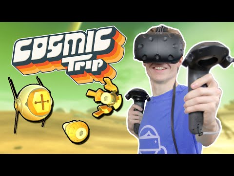 TRIPPY VR STRATEGY GAME | Cosmic Trip (HTC Vive Gameplay) |