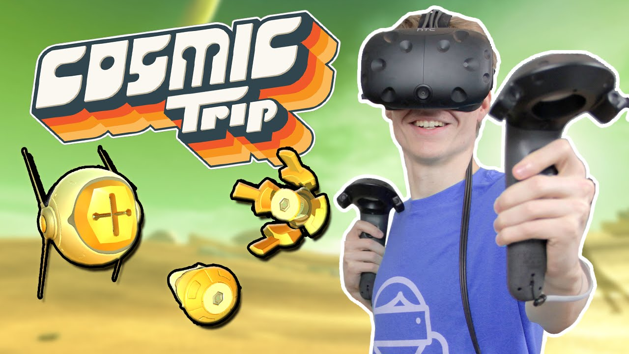 TRIPPY VR STRATEGY GAME | Cosmic Trip (HTC Vive Gameplay)