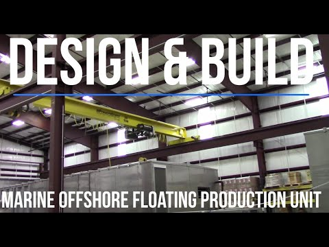 Design & Build - Building Automation System for a Floating Production Unit (FPU)