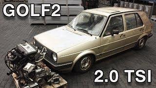 VW Golf2 2.0TSI Swap Projekt - Vorstellung & Kabelbaum [G2-01]