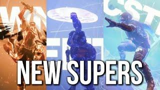 Destiny 2 - New Super Moves | Dawnblade, Sentinel & Arcstrider