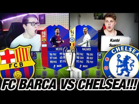 BARCELONA vs CHELSEA CHAMPIONS LEAGUE SQUAD BUILDER BATTLE💎😱🔥 Fifa 18 Ultimate Team😱