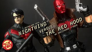 McFarlane DC Multiverse NIGHTWING /& RED HOOD Action Figure Pack Brand New