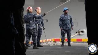 USS Bataan Leaves for Deployment
