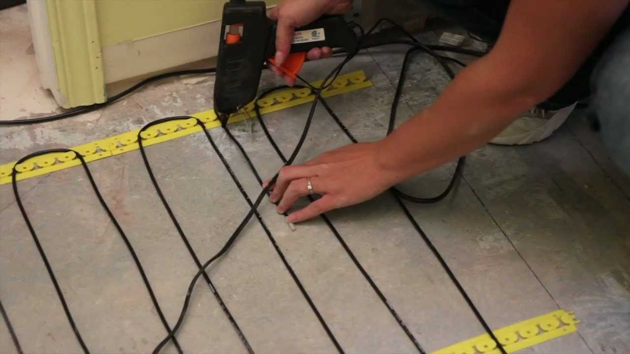 Cable Heating System For Radiant Floors