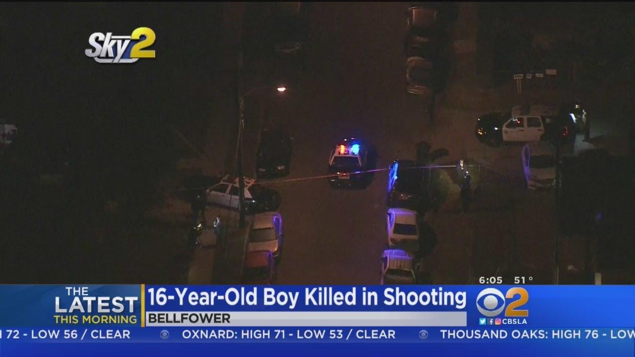 Boy 16 Shot To Death In Bellflower Youtube