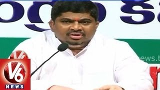 Telangana Congress Leaders Slams Cm Kcr - Press Meet