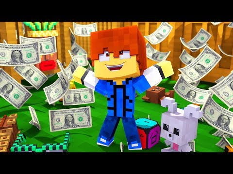 Minecraft Daycare - WE WON A MILLION DOLLARS !? (Minecraft Roleplay