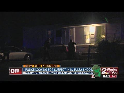 Police looking for suspect in N. Tulsa shooting.