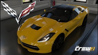 The Crew 2 - C7 CORVETTE STINGRAY - Customization, Top Speed Run, Review